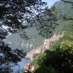 116a uitzicht op luganomeer